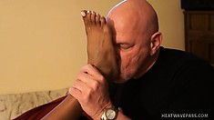 Red Fontana and Michelle Malone enjoy some freaky foot playtime