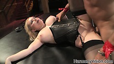He has been punished enough, now he gets to make her cum hard